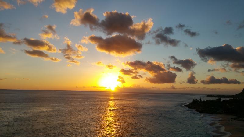Lanai sunset View
