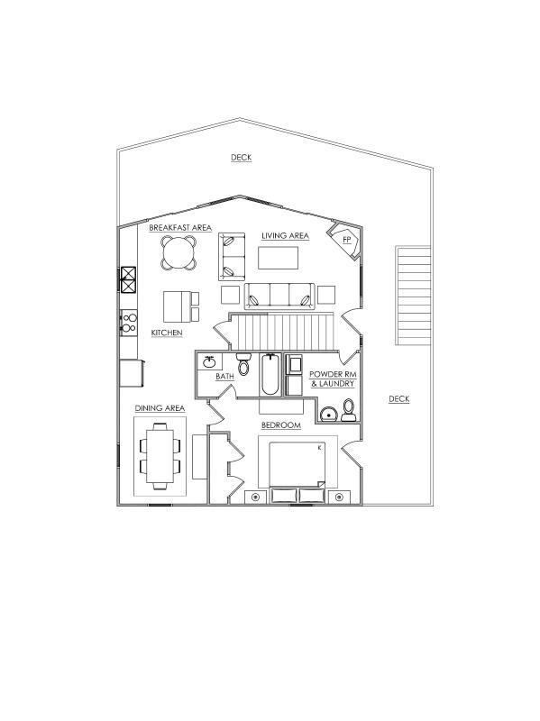 Third Floor layout