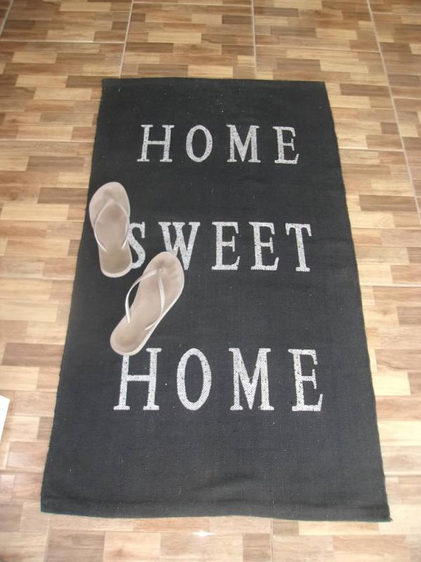 The Welcome mat! Freedom is at hand! Or should I say at your feet?