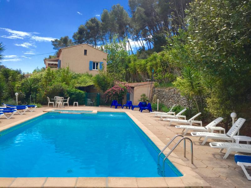 Mas du vallon 4* near the sea accommodates 18 p   exceptional environment pool 12x6m, park 7500sqm