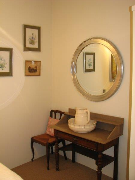 Another view of the Second Bedroom, furnished with super Antiques