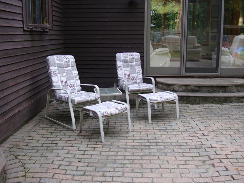 Patio-6 chairs available