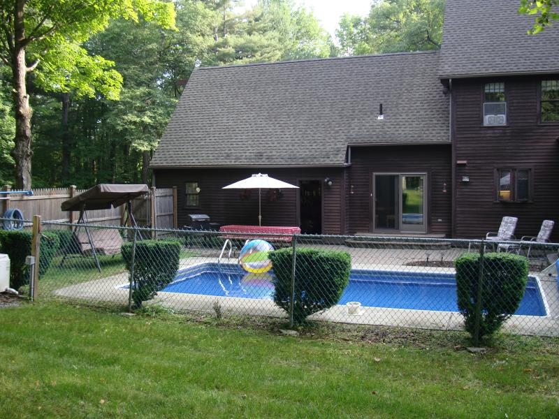 Rear View of Pool/Patio