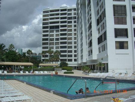 Condo and Pool