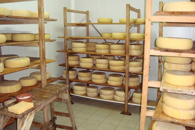 Traditionelle Milch in Apostoli