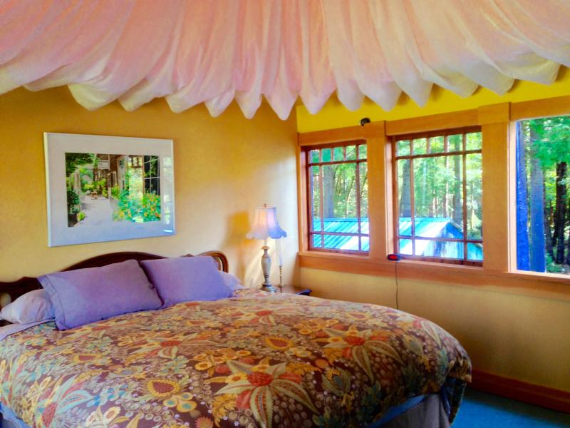 Water Tower in the Redwoods Bedroom