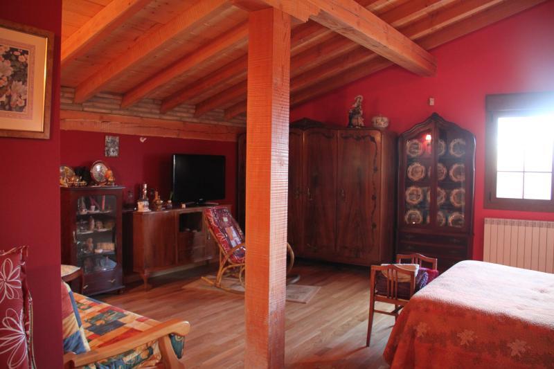 Mangnífica Habitación Roja, 50 m,  Baño Privado Completo , Frigo, TV, Terraza – semesterbostad i La Rioja