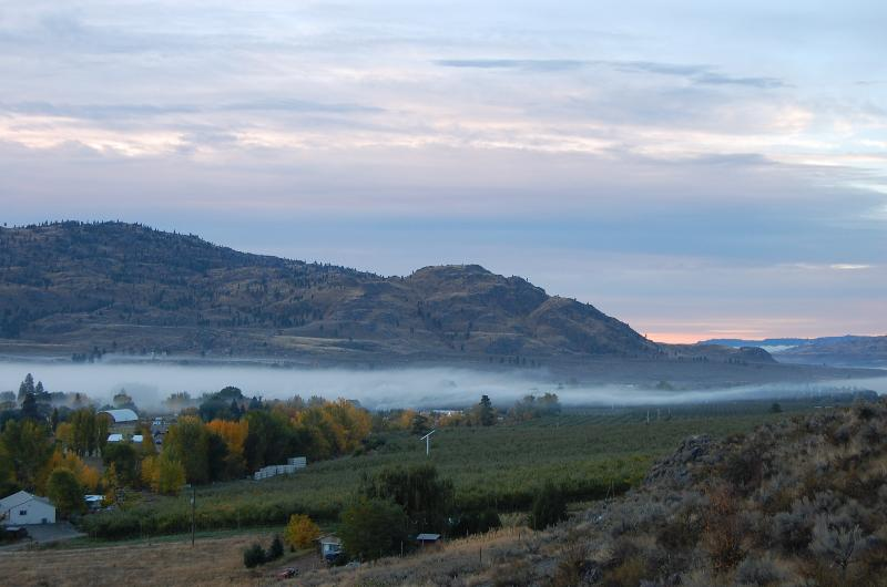 Serene Hillside Getaway Fall