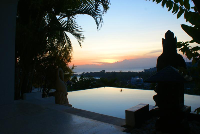 Sunset Viewed From The Endless Pool