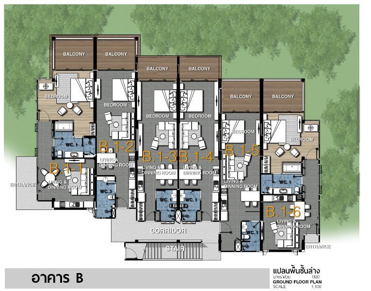 B1-1 layout plan