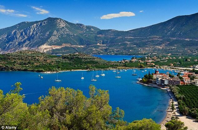 Greece area of Nea Epidavros