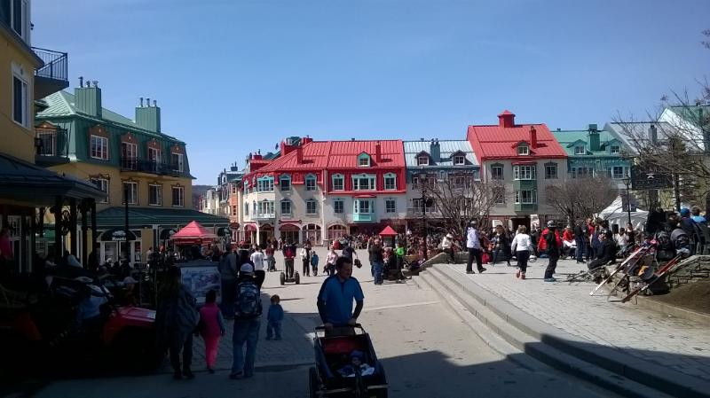 Mont-Tremblant main place (5 min from condo)
