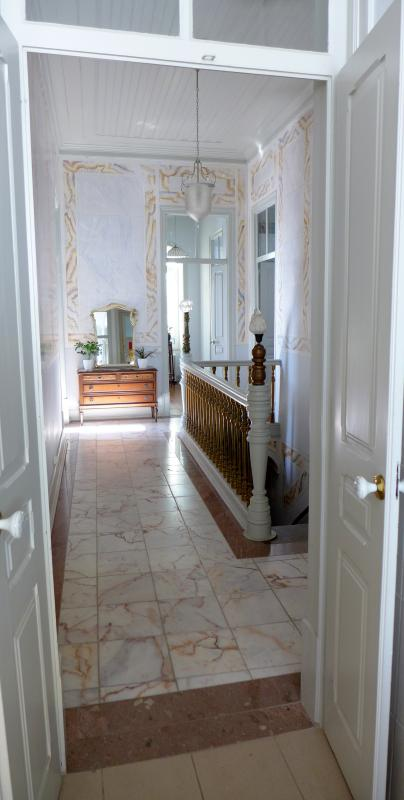 Bright and airy hallway