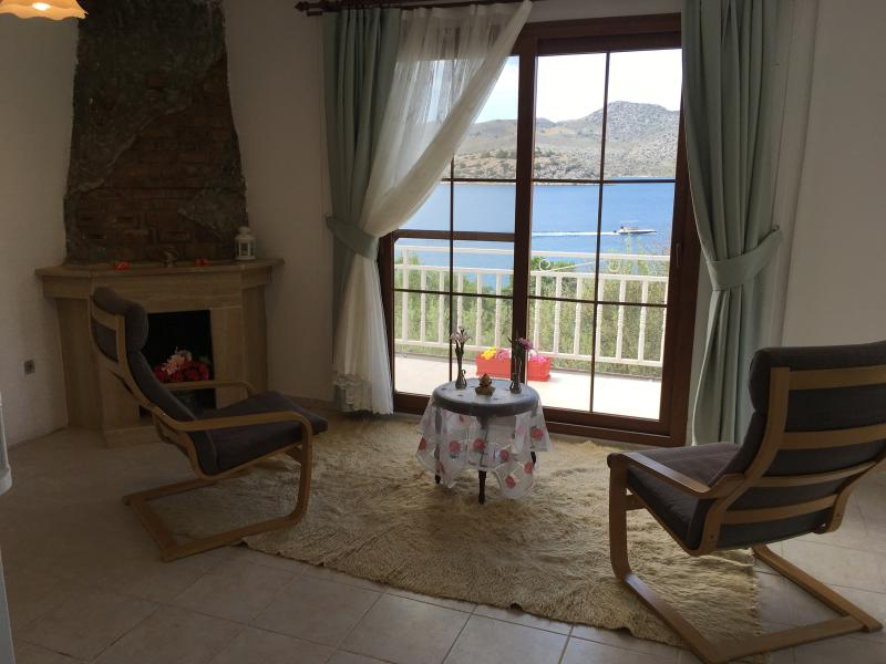 Quiet and peaceful location with amazing view, holiday rental in Sogut