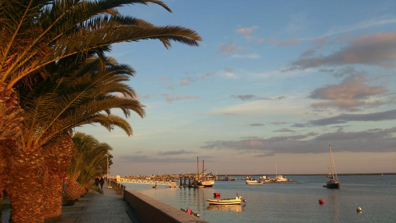 Olhao waterfront, 5 minutes walk away