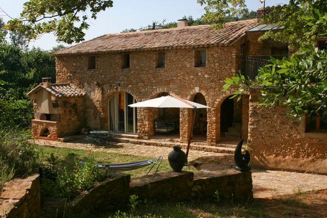 Mas à la compagne, vallée de la Céze,9 personnes, holiday rental in Saint-Marcel-de-Careiret