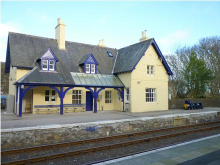 Helmsdale Station Self Catering Accomodation, vacation rental in Dunbeath