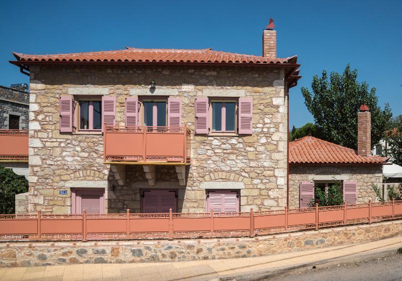 Villa Lakonia, aluguéis de temporada em Lefktro