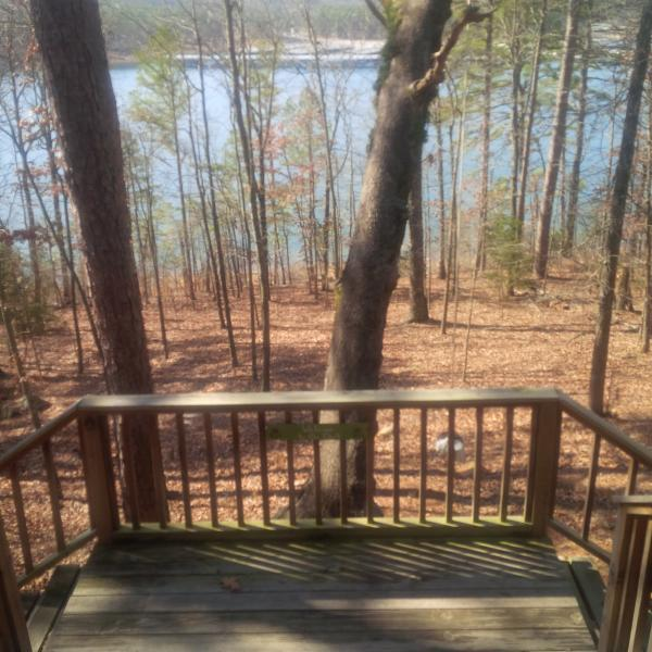 Lakeview from Private Porch!