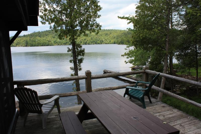 Classic Adirondack Waterfront Cabin *Pets ok* 3/2, holiday rental in Tupper Lake