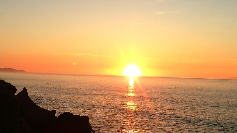 Amazing sun sets from Westward ho!