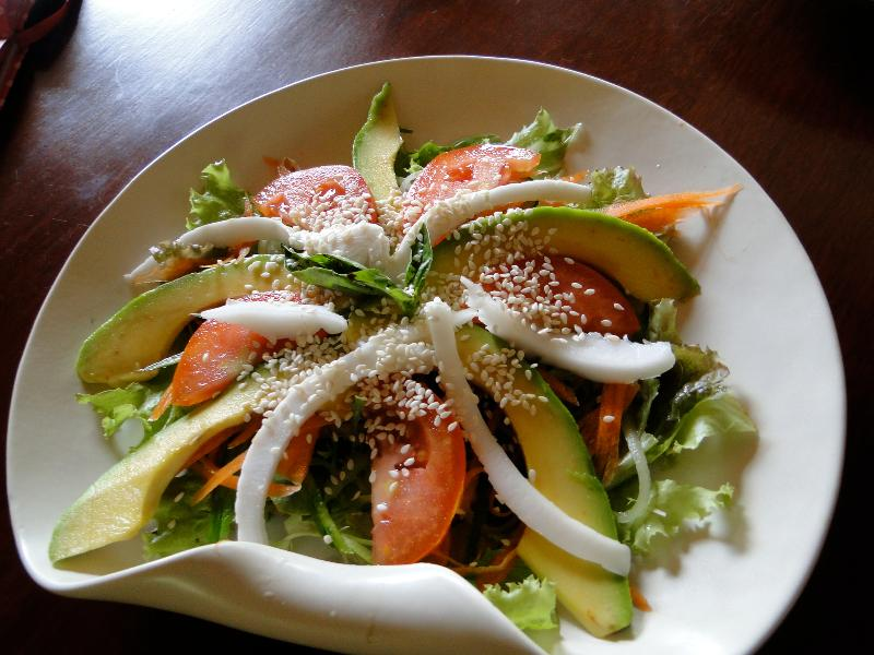 Main Course - Avocado salad