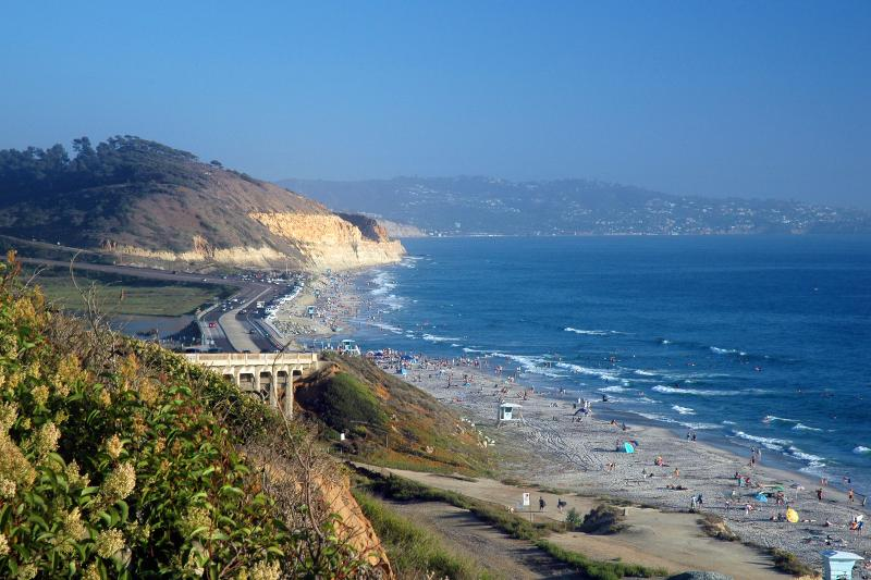 The famous Torrey Pines Beach & State Park - just 5 minutes away!