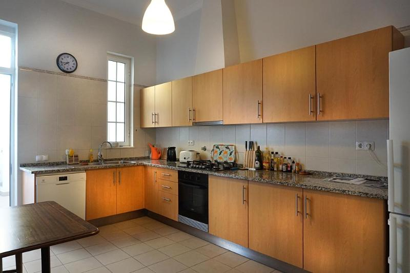 Bright and airy fully equipped kitchen
