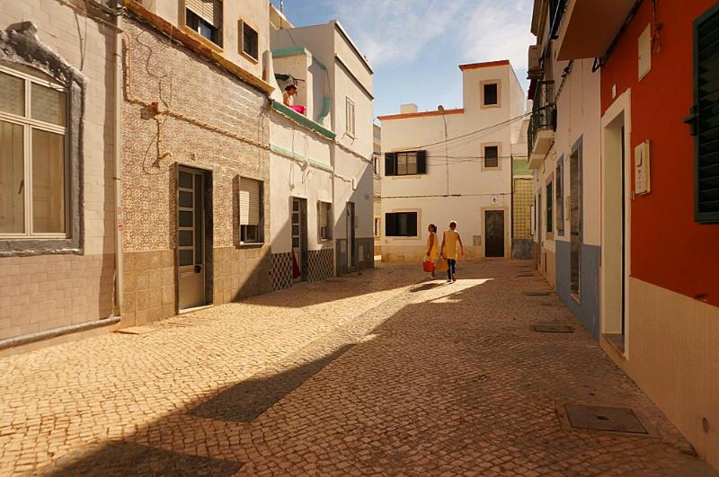 Olhao character filled streets