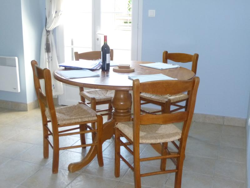 Martell dining area