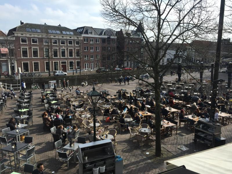 view Waagplein en centrum