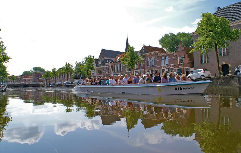 Rondvaartboot centrum Alkmaar