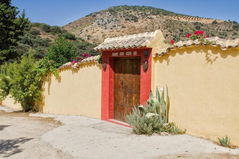 Cortijo san José, alquiler vacacional en Cuevas Bajas