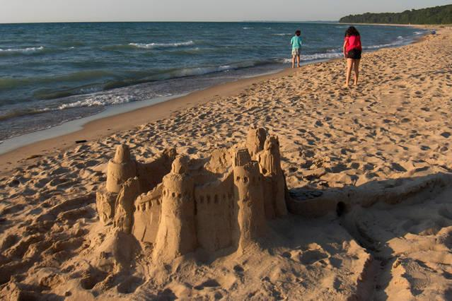 Sand Castles and Memories