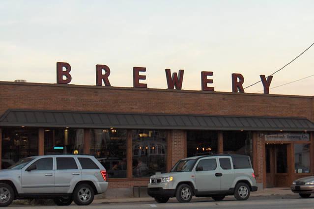Great destination . Sawyer Greenbush brewery.