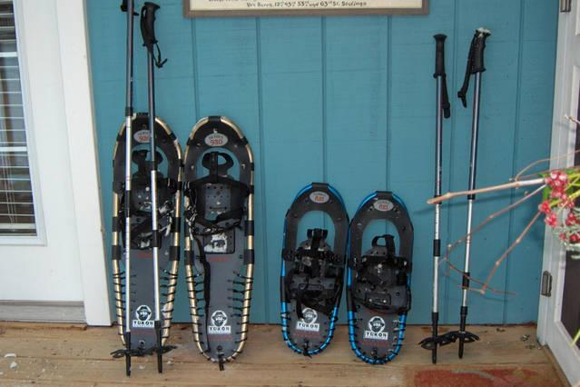 Give a try. Borrow the Shorewinds Snow shoes for some water front exercise.