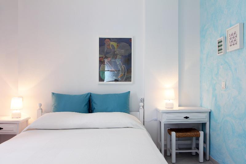 First bedroom has a comfortable double bed (1,50x2,00m).