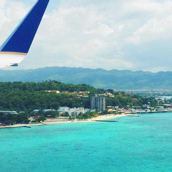 The gorgeous coast line of Ocho Rios