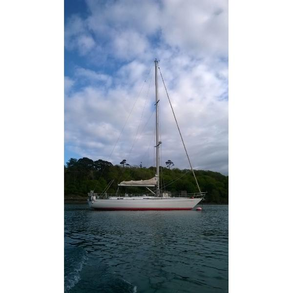 50ft Charter Yacht -Yemaya of Helford