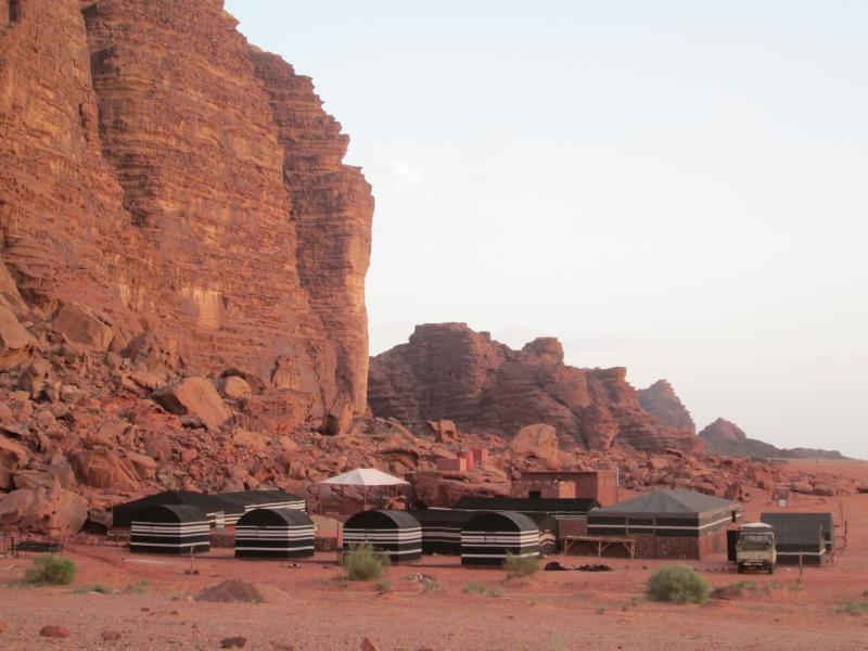 Saleh's Safari Camp, in the heart of Wadi Rum, at the foot of Jebel Khazali, wadirumtous start here!
