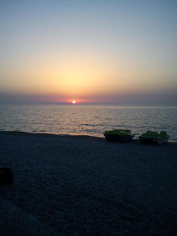 Acharavi Beach Sunset