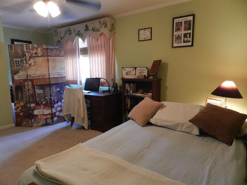 Third upstairs bedroom with futon sleeper