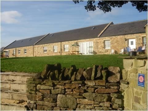 Hamsteels Hall Holiday Cottages -The Clydesdale, Ferienwohnung in Waterhouses
