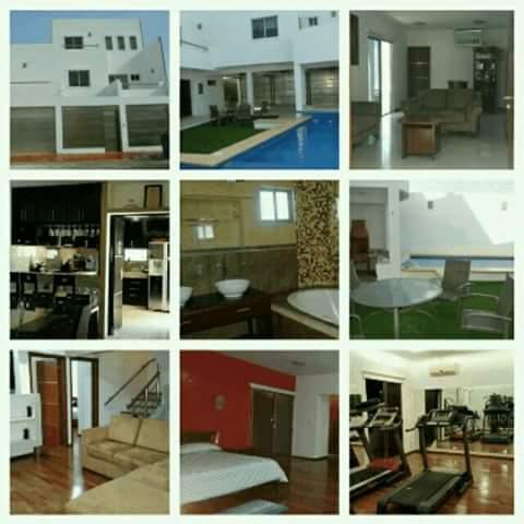 Confortable casa vacacional en cancun