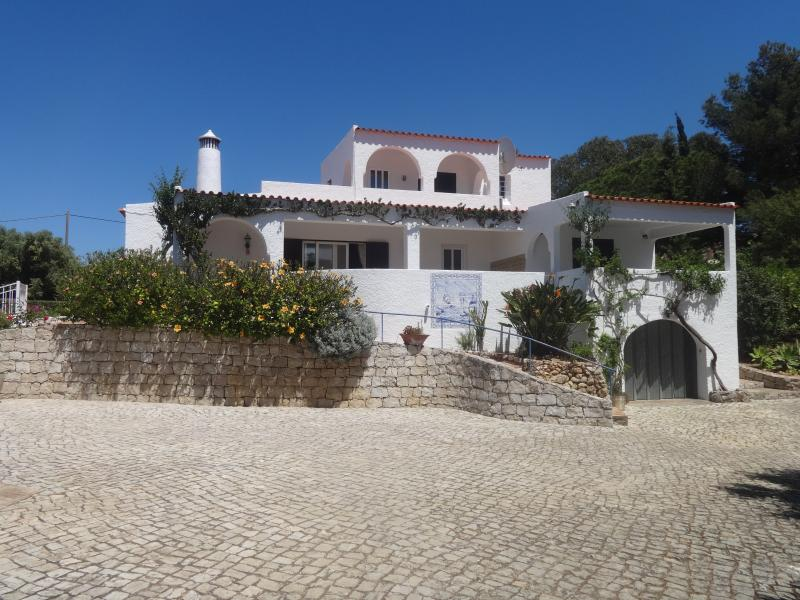 Large Private villa with gated heated pool amazing sea views Fantastic location walk to town.