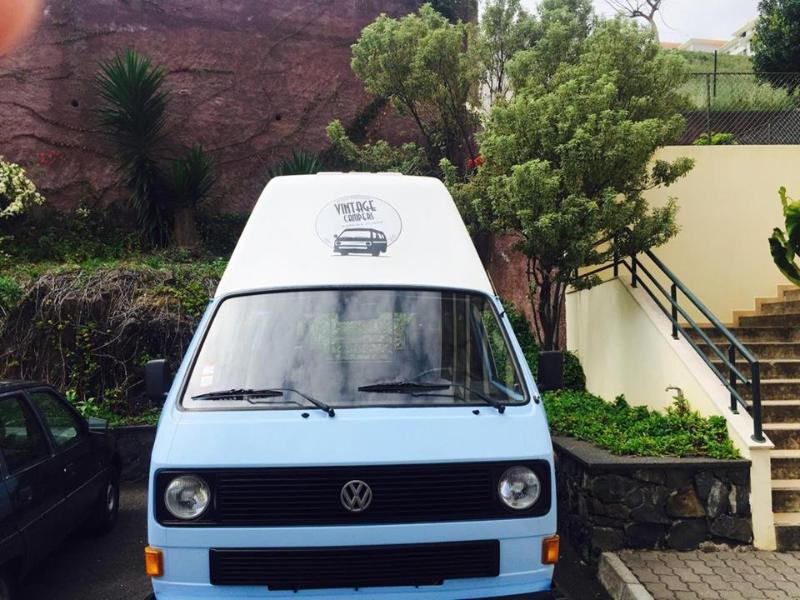 Vw T3 / T25 Camper Van In Madeira island, vacation rental in Funchal