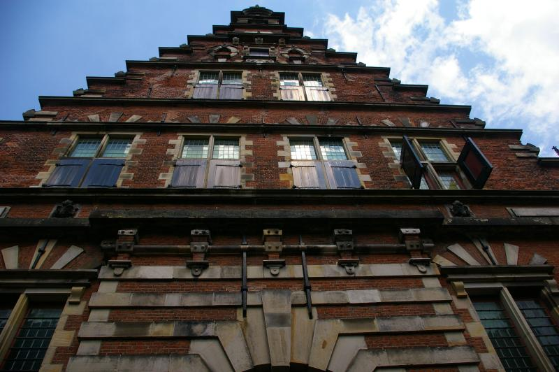 A beautiful historical building near Grote Markt, Haarlem