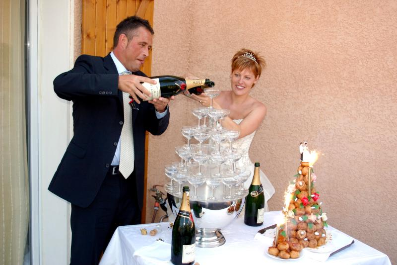 The Moet Fountain! Not mandatory on your holiday but once in a lifetime it ought to be tried!