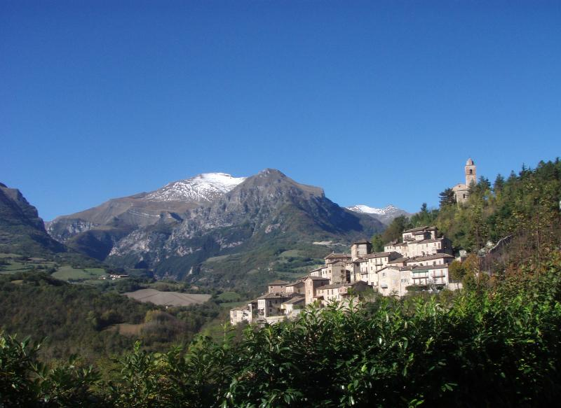 The local village of Montefortino