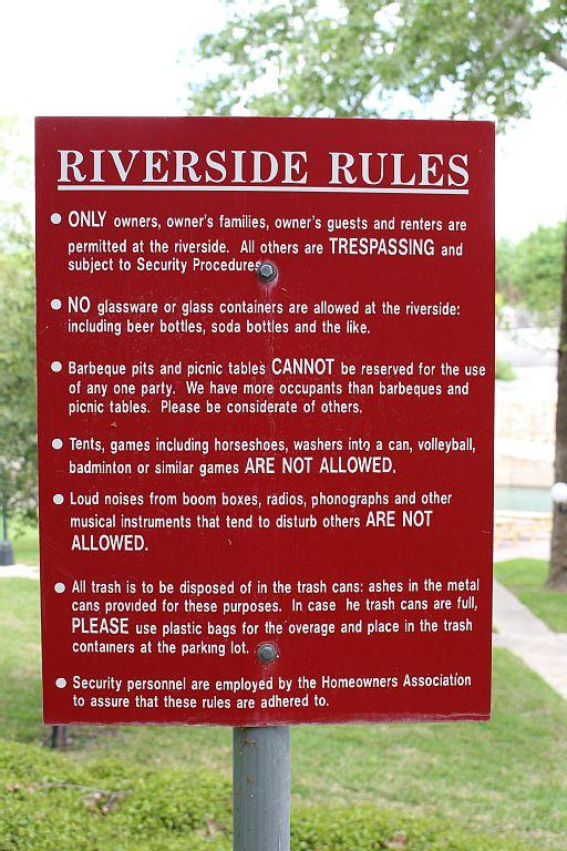Please observe and obey RIVERSIDE RULES!!!
